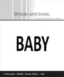 SBD063 Dies - BABY