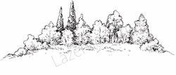 14180-Stämpel Skogsdunge