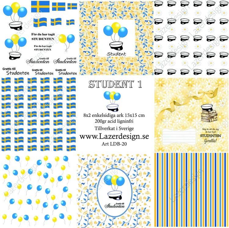 LDB-20 Pappersblock student 1