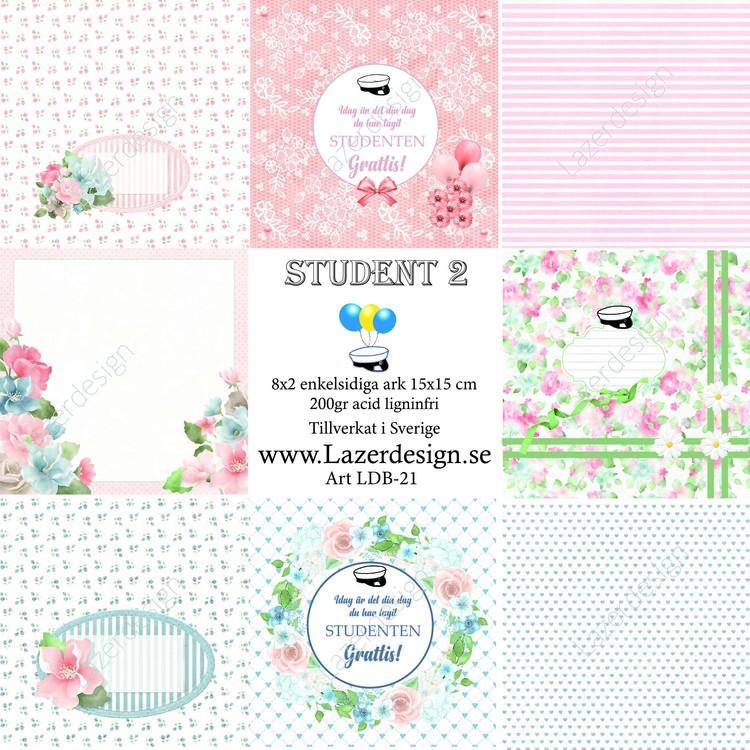 LDB-21 Pappersblock student 2