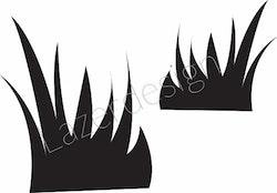 14223-Stämpel Grästuvor