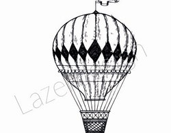 14238-Stämpel liten luftballong