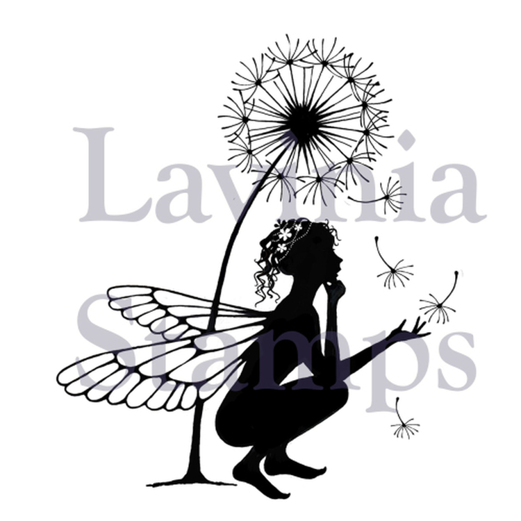 LAV389-Clearstamp  Fairytale