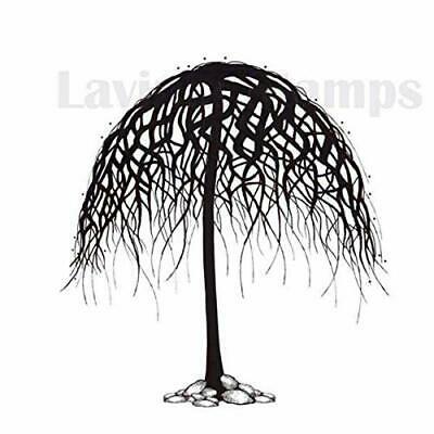 LAV269 -Clearstamp  wishing Tree