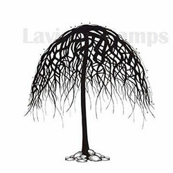 LAV269 -Clearstamp  wishing Tree