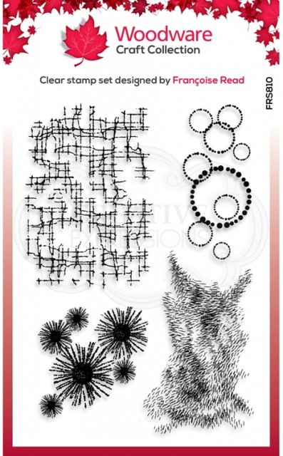 FRS810-Woodware Clearstamp Textures