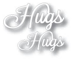 TUTTI-Dies 239 word Set Hugs