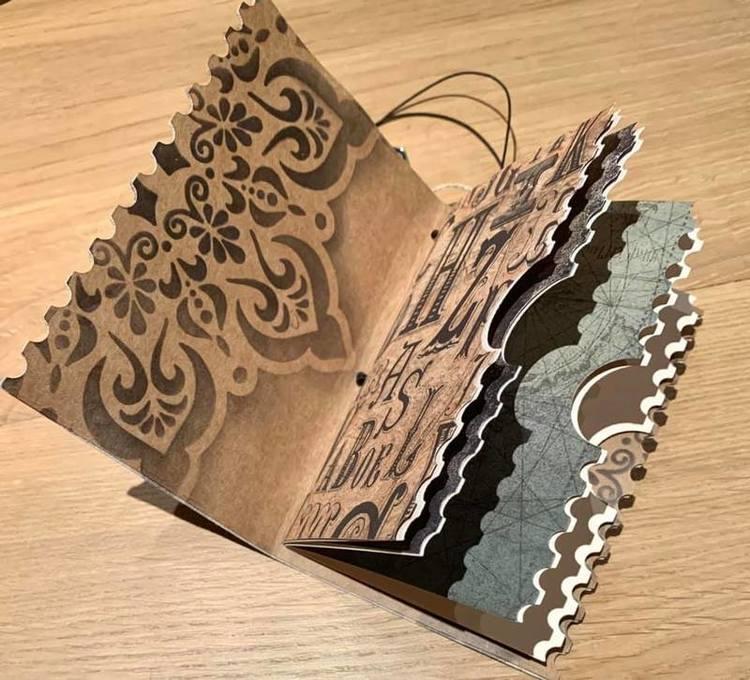 SL256 Dies  Make your own journal!
