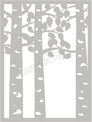 32132 - Stencil Lazerdesign Träd