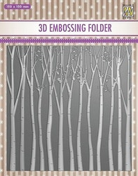 EF3DO13- Embossingfolder  Trees