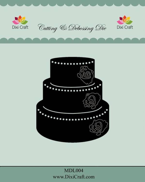 MD004 DIES Bröllopstårta