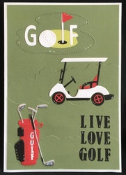 BLD1273 Dies Golfbag