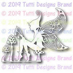 TUTTI-543  Fairy on Toadstool