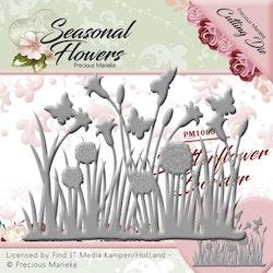 PM10086Dies Seasonal Flowers