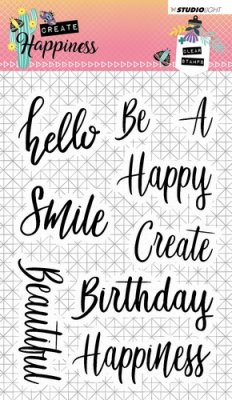 STAMPCR346 Create Happiness Texter