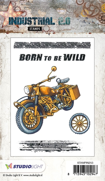 STAMPIN253 Industrial Born to be wild