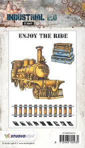 STAMPIN252 Industrial Enjoy the ride
