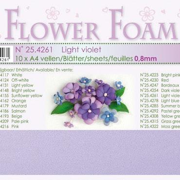 4261- Lavendel Foamiran 1 st