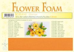 4162-Sommar orange Foamiran 1 st