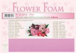 4216-Sommar Pink Foamiran 1 st
