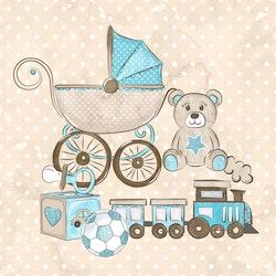BABY-18 Baby blå