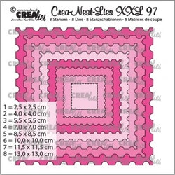 CLNESTXXL97 Dies Ticket stamp square
