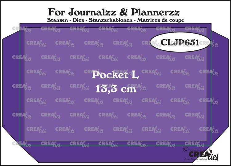 CLJP651 Dies Pocket L 13,3 x 8,5 cm