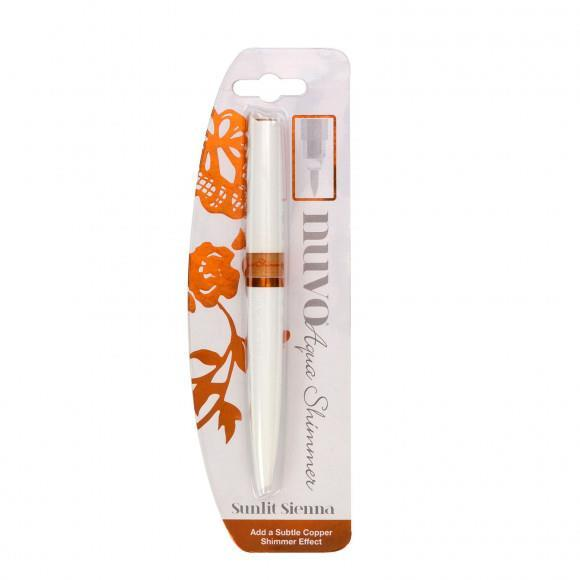 880-Aqua Shimmer Pen Sunlit Sienna