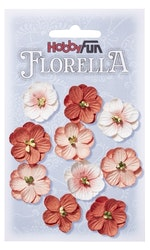 3866017- Florella pfirich 2,5 cm