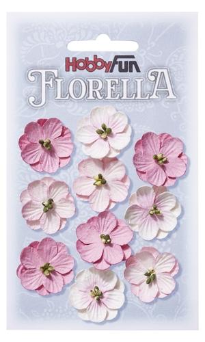 3866015- Florella rose 2,5 cm