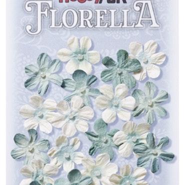 3866003- Florella grönblå 2 cm