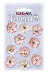 3866041- Florella cerice rosa 2,5 cm
