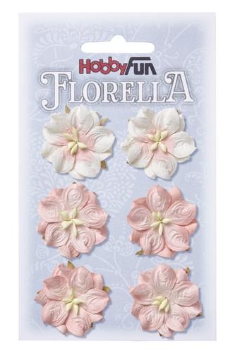 3866051- Florella rosa 2,5 cm