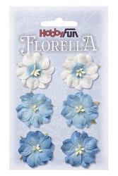 3866054- Florella blå 3,5 cm