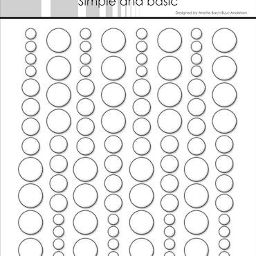 SBA003 Enamel dots transparent