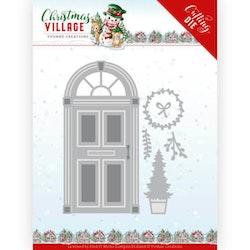YCD10210 Dies Christmas door
