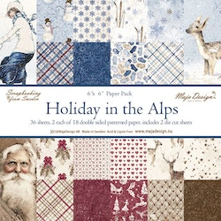 1059-Holiday in the Alps  Block 6x6