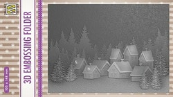 EF3D017 Snowy village