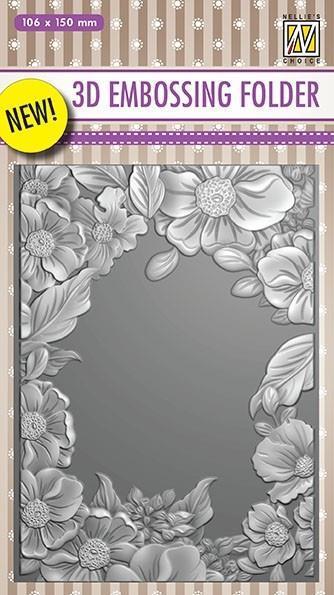EF3D009 Flower frame