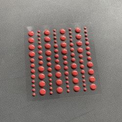 SBA007 Enamel dots Röd