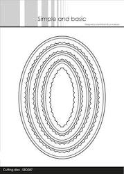 SBD087 Dies Innerscallop oval ram