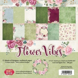 CPS-FV30 Flower Vibes block 30,5 x 30,5 cm