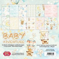 CPS-BA30 Baby Adventure Time block 30,5 x 30,5 cm