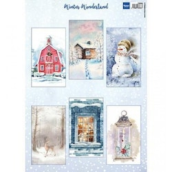 VK9590 klippark Winter Wonderland Marianne Design