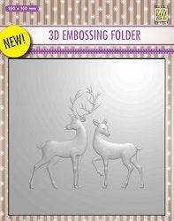 EF3D008 Reindeer