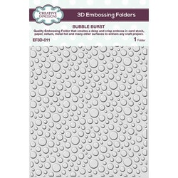 EF3D-011 Embossingfolder 3D Bubble Burst