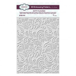 EF3D-019 Embossingfolder 3D Dotty Flourish