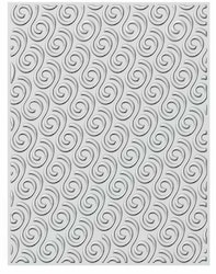 EF3D-012 Embossingfolder 3D Ribbon Swirls