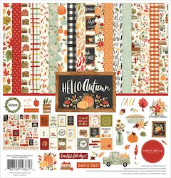 CBHEA122016 Hello Autumn kit 12x12 inch