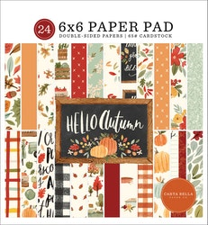 CBHEA122023 Hello Autumn pappersblock 6x6